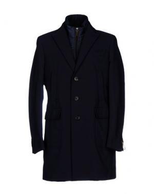 Легкое пальто PAOLONI. Цвет: темно-синий