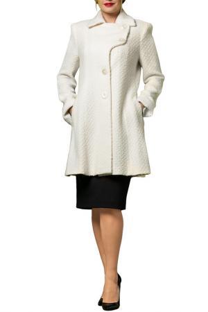 Пальто JOELLE JO'ELLE. Цвет: белый