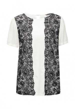 Блуза Sinequanone. Цвет: черно-белый