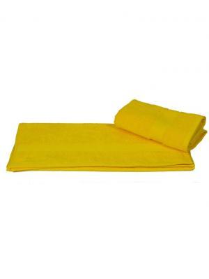 Махровое полотенце 100x150 BERIL желтое, 100% хлопок HOBBY HOME COLLECTION. Цвет: желтый