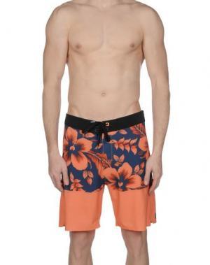 Пляжные брюки и шорты RIPCURL. Цвет: оранжевый