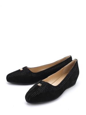 Туфли BACODE. Цвет: черный