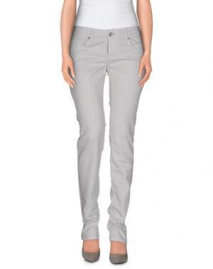 Джинсовые брюки BROOKSFIELD. Цвет: светло-серый
