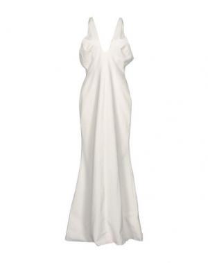 Длинное платье JILL STUART. Цвет: белый
