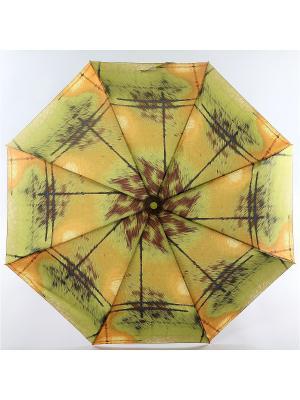 Зонт Trust. Цвет: персиковый, темно-коричневый, черный