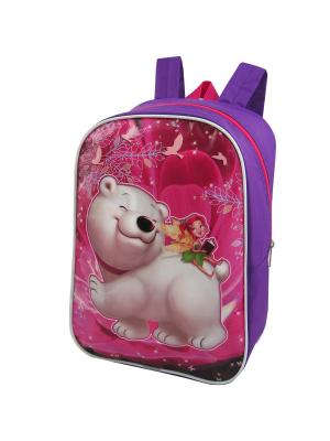 Портфель ученический Stelz. Цвет: фиолетовый