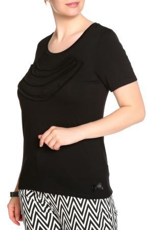 Блуза LOLA PALTINGER. Цвет: черный