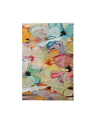 Визитница Цветные бабочки Арт. VIZIT126 Mitya Veselkov. Цвет: белый, черный