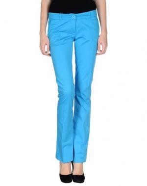 Повседневные брюки DIVINA. Цвет: лазурный