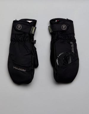 Volcom Зимние перчатки. Цвет: черный
