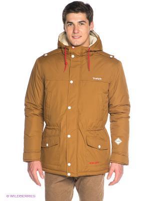 Куртка True Spin. Цвет: коричневый