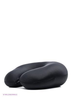 EXPETRO Подголовник-антистресс Сатиновый Экспетро. Цвет: черный