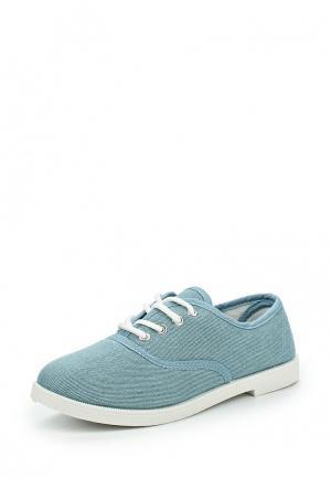Ботинки Tony-p. Цвет: голубой