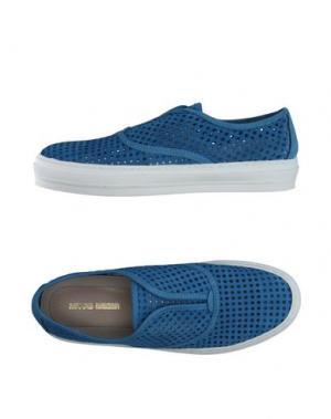 Низкие кеды и кроссовки MANAS. Цвет: пастельно-синий