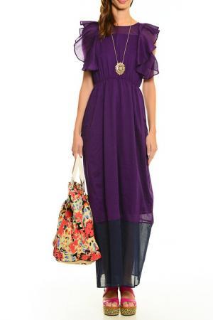 Платье Cantarelli. Цвет: фиолетовый