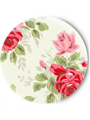 Зеркальце Tina Bolotina. Цвет: светло-зеленый, красный, розовый