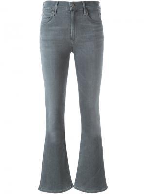 Расклешенные брюки Citizens Of Humanity. Цвет: серый