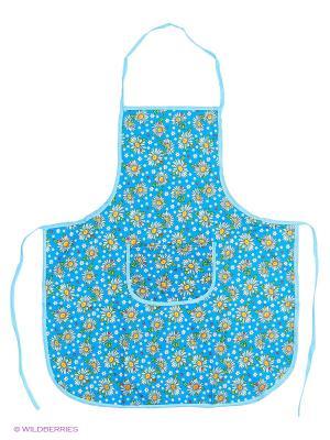 Фартук кухонный Метиз. Цвет: голубой