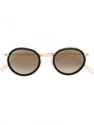 Солнцезащитные очки Matti Kyme. Цвет: металлический