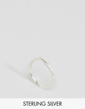 Fashionology Серебряное кольцо. Цвет: серебряный