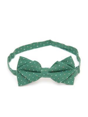 Галстук-бабочка Churchill accessories. Цвет: зеленый, белый, оливковый, хаки