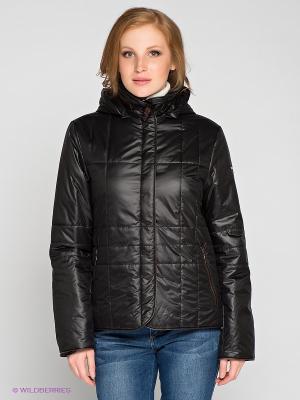 Куртка RIO VERTI. Цвет: черный