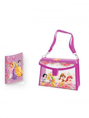 Подарочный набор, Сумочка Disney Принцессы. Цвет: розовый