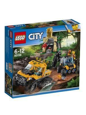 City Jungle Explorer Миссия Исследование джунглей 60159 LEGO. Цвет: синий