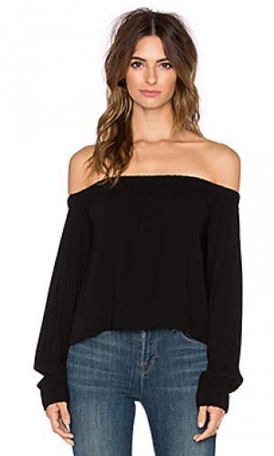 Блузка с длинным рукавом senorita Otis & Maclain. Цвет: черный