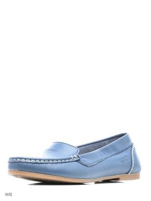 Мокасины Goergo. Цвет: синий