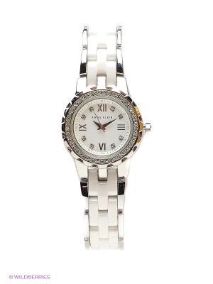 Часы ANNE KLEIN. Цвет: серебристый, белый