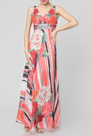 Платье EUFORIA. Цвет: красный
