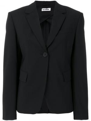 Tailored blazer jacket Jil Sander. Цвет: чёрный