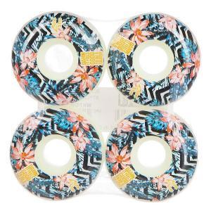 Колеса для скейтборда  Damn Plantlife Wheel White/Orange 51 mm Blind. Цвет: мультиколор