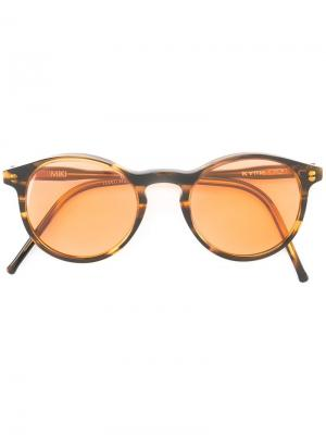 Солнцезащитные очки Miki Kyme. Цвет: коричневый