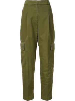 Брюки карго Givenchy. Цвет: зелёный