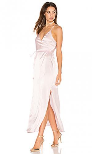 Платье venice Backstage. Цвет: розовый