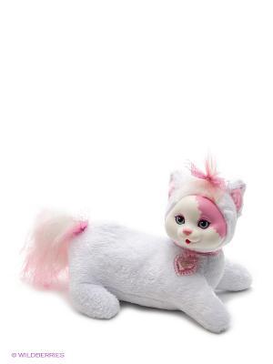 Кошечка Китти и ее котята Just Play. Цвет: бледно-розовый, белый