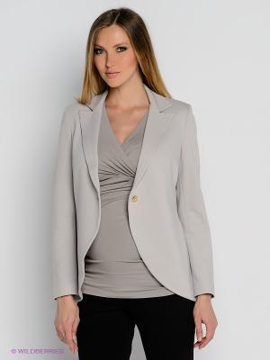 Пиджак Isabella Oliver. Цвет: светло-серый