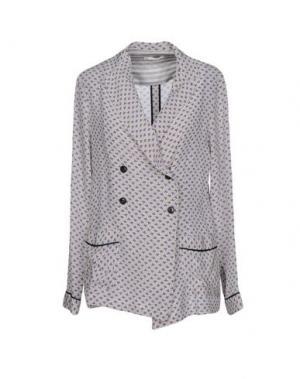 Пиджак E-GÓ. Цвет: серый