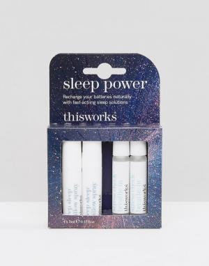 This works Набор средств для более быстрого засыпания и улучшения качества сна Th. Цвет: бесцветный