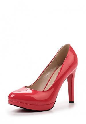Туфли Gene. Цвет: красный