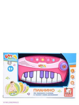 Пианино S-S. Цвет: розовый