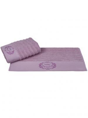 Махровое полотенце 70x140 ZAFIRA сиреневый,100% хлопок HOBBY HOME COLLECTION. Цвет: сиреневый