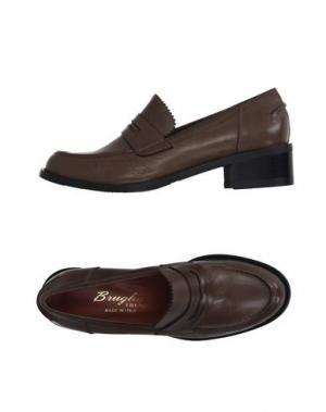 Обувь на шнурках F.LLI BRUGLIA. Цвет: хаки