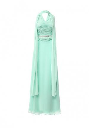 Платье To be Bride. Цвет: бирюзовый