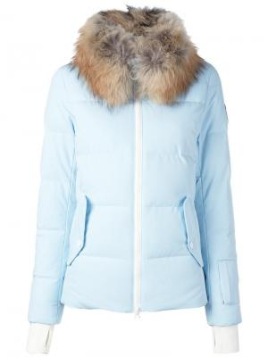 Куртка-пуховик Aura Rossignol. Цвет: синий