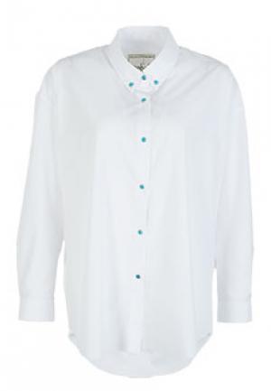 Рубашка WHITE SAND. Цвет: белый