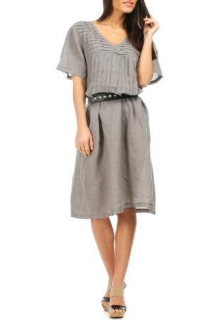 Платье Laklook. Цвет: серый
