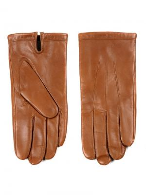 Перчатки Piero. Цвет: светло-коричневый